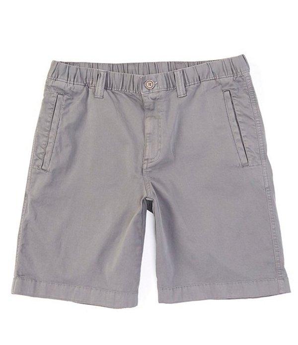 ラウンドトゥリーアンドヨーク メンズ ハーフパンツ・ショーツ ボトムス Flat Front Tech 9#double; Inseam Shorts Medium Grey