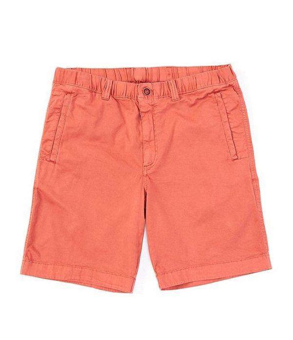 ラウンドトゥリーアンドヨーク メンズ ハーフパンツ・ショーツ ボトムス Flat Front Tech 9#double; Inseam Shorts Red