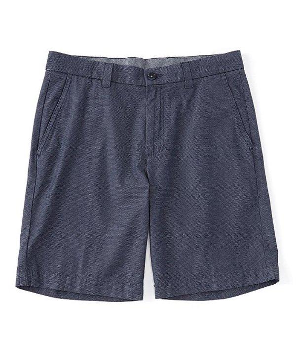 ラウンドトゥリーアンドヨーク メンズ ハーフパンツ・ショーツ ボトムス Flat Front Geo Print Dobby 9#double; Inseam Shorts Blue