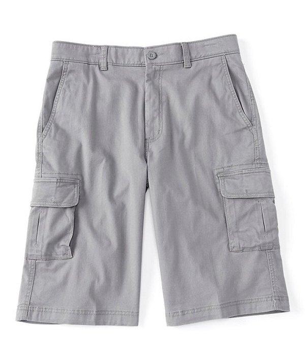 ラウンドトゥリーアンドヨーク メンズ ハーフパンツ・ショーツ ボトムス Washed 13#double; Inseam Utility Cargo Shorts Medium Grey