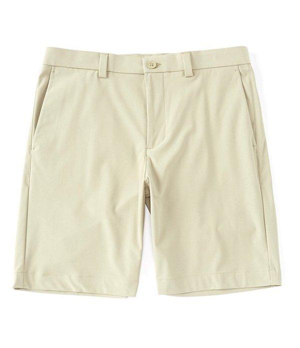 ラウン メンズ ハーフパンツ・ショーツ ボトムス 9#double; Inseam Flat Front Tech Shorts Khaki