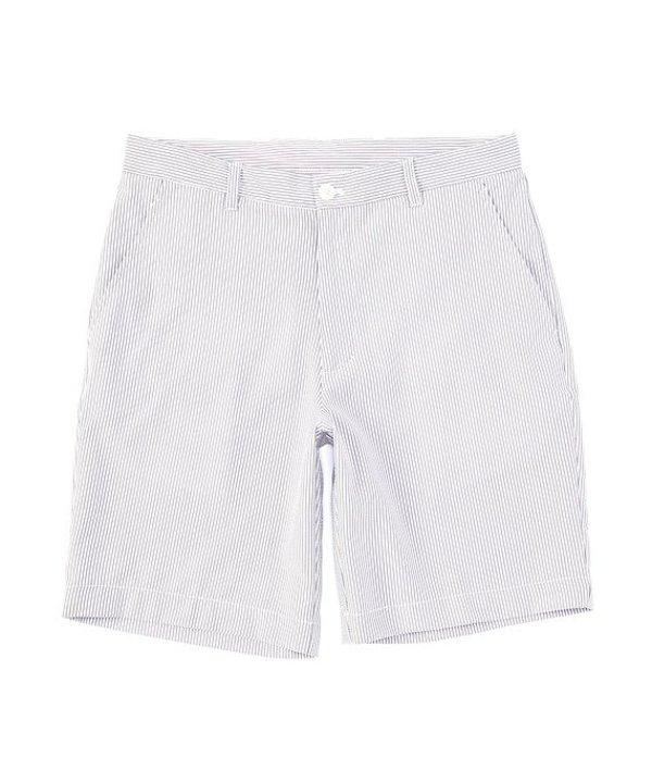ラウンドトゥリーアンドヨーク メンズ ハーフパンツ・ショーツ ボトムス Performance Yarn-Dye 9#double; Inseam Seersucker Shorts Light Grey