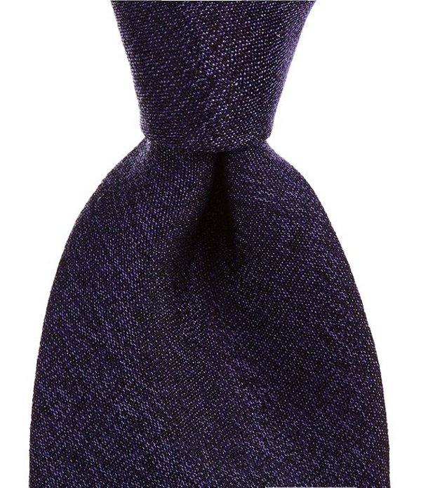 ムラノ メンズ ネクタイ アクセサリー Beldans Solid Narrow 3 1/8#double; Silk Tie Purple