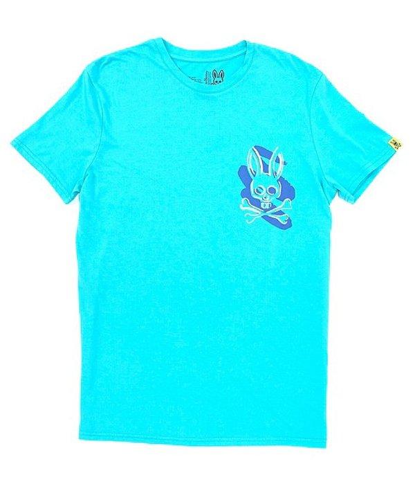 サイコバニー メンズ シャツ トップス Lounge Bunny Logo Short-Sleeve T-Shirt Ceramic