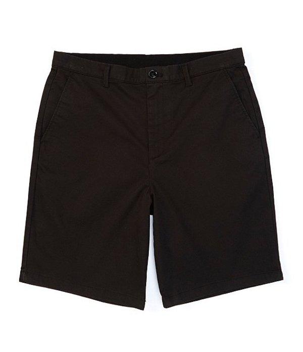 カルバンクライン メンズ ハーフパンツ・ショーツ ボトムス New Chino 9#double; Inseam Stretch Shorts Black