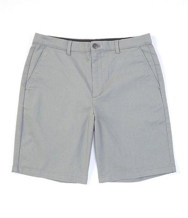 カルバンクライン メンズ ハーフパンツ・ショーツ ボトムス New Chino 9#double; Inseam Stretch Shorts Griffin