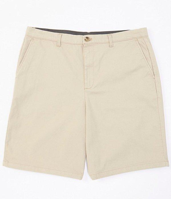 カルバンクライン メンズ ハーフパンツ・ショーツ ボトムス New Chino 9#double; Inseam Stretch Shorts Sueded Taupe