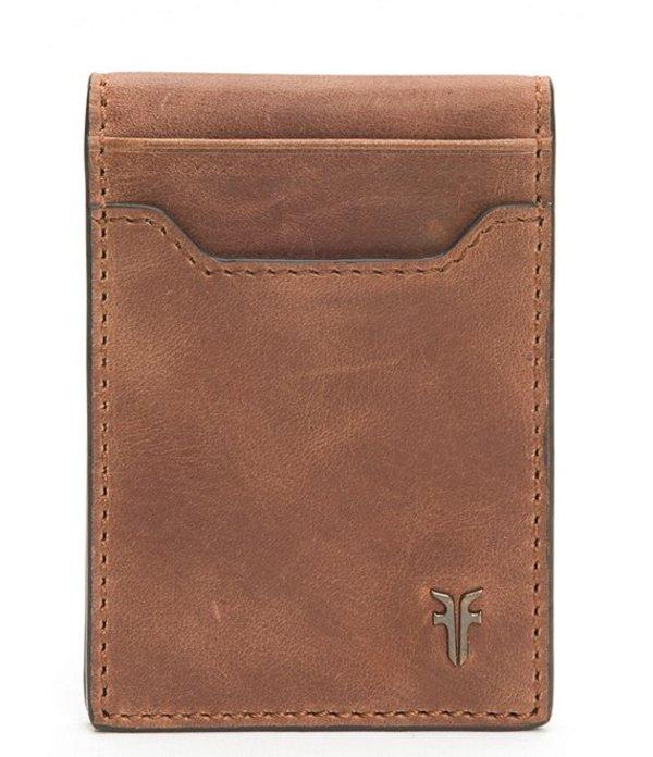 フライ メンズ 財布 アクセサリー Holden Leather Folded Card Case Whiskey