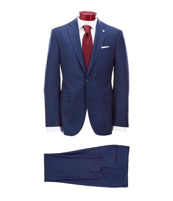 Fit ジャケット・ブルゾン Modern ダニエル Navy Flat Wool アウター Neat Front Suit メンズ Blue クレミュ
