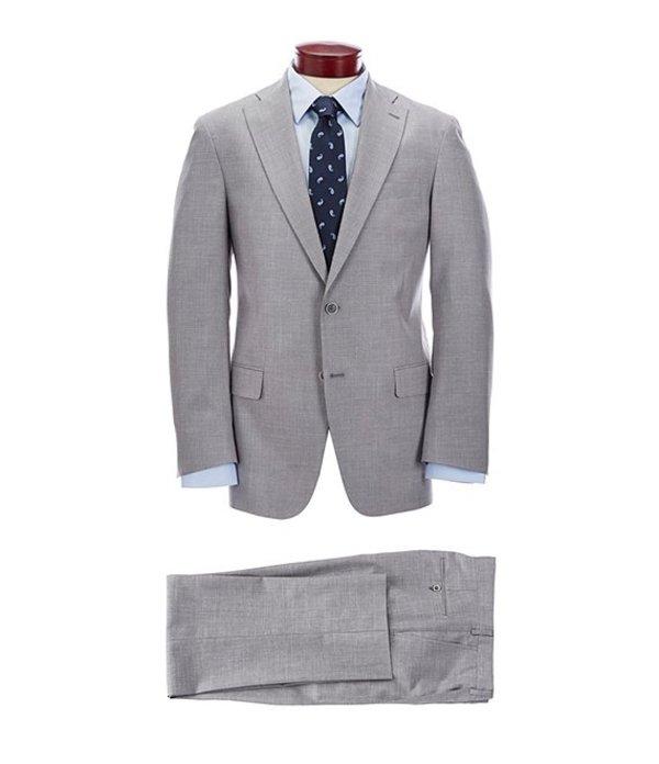 ハート シャフナー マルクス メンズ ジャケット・ブルゾン アウター Classic Fit Solid Grey Suit Grey