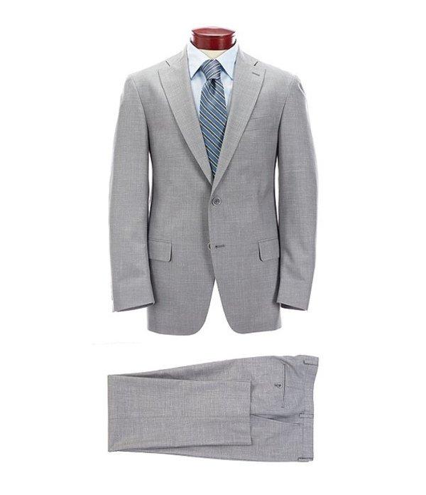 ハート シャフナー マルクス メンズ ジャケット・ブルゾン アウター Classic Fit Grey Solid Wool Blend Suit Grey