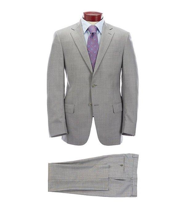 ハート シャフナー マルクス メンズ ジャケット・ブルゾン アウター Modern Fit Solid Grey Wool Suit Grey