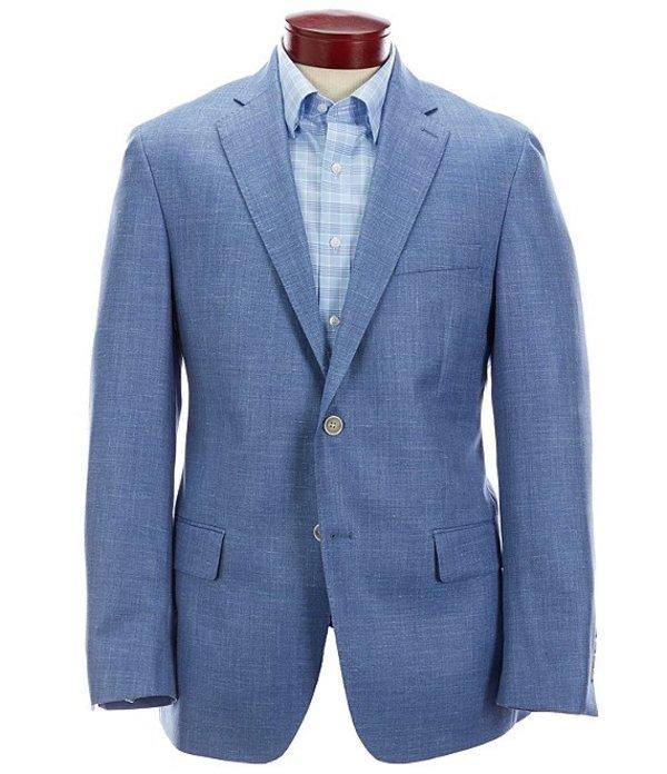 ハート シャフナー マルクス メンズ ジャケット・ブルゾン アウター Modern Fit Solid Blue Wool Blend Sportcoat Blue