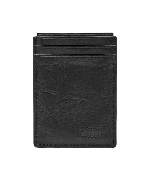 フォッシル メンズ 財布 アクセサリー Neel Magnetic Card Case Black