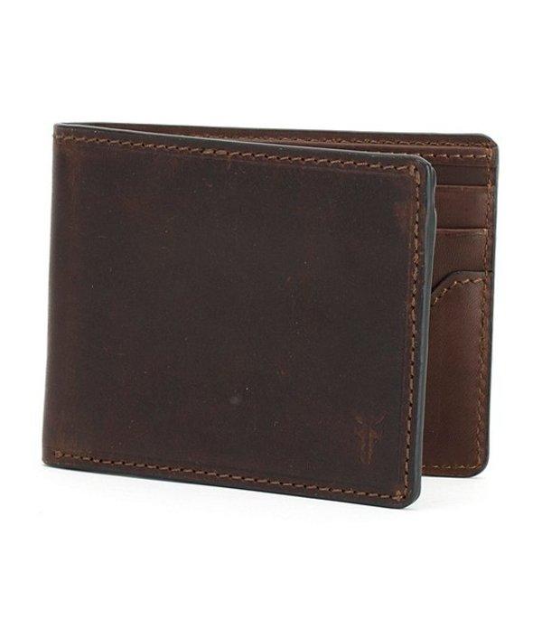 フライ メンズ 財布 アクセサリー Logan Slim ID Billfold Wallet Dark Brown