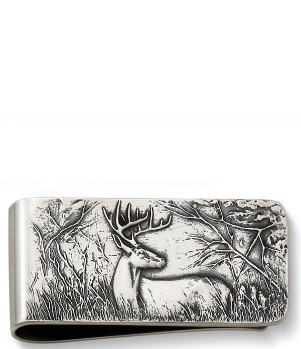 ジェームズ エイヴリー メンズ 財布 アクセサリー Deer Money Clip Sterling Silver