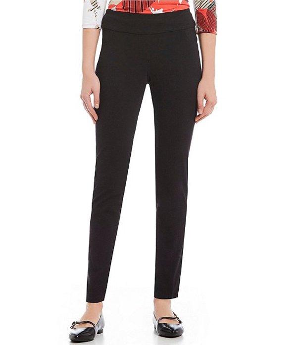 ルビーアールディー レディース カジュアルパンツ ボトムス Pull-On Knitted Twill Pants Black