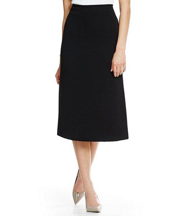 プレストンアンドヨーク レディース スカート ボトムス Taylor Stretch Crepe Suiting Midi Pencil Skirt Black