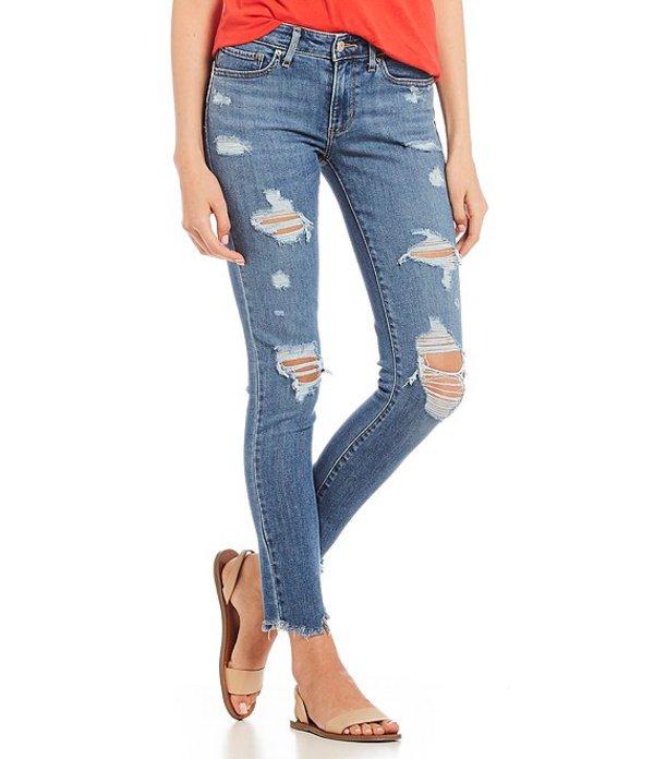 リーバイス レディース デニムパンツ ボトムス Levi'sR 711 Destructed Raw Edge Hem Skinny Jeans Try Again