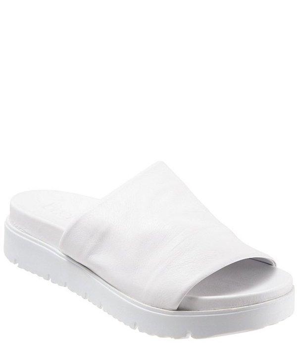 ブエノ レディース サンダル シューズ Splash Classic Leather Slides White