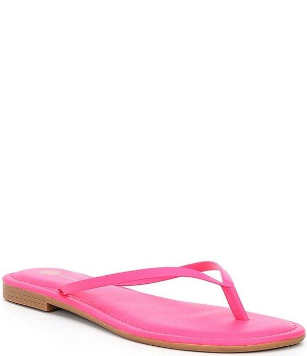アントニオ メラーニ レディース サンダル シューズ Lagoona Leather Thong Sandals Hot Pink