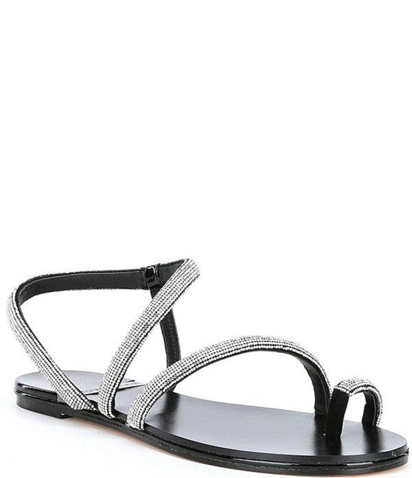 アントニオ メラーニ レディース サンダル シューズ Paulinie Embellished Flat Sandals Black