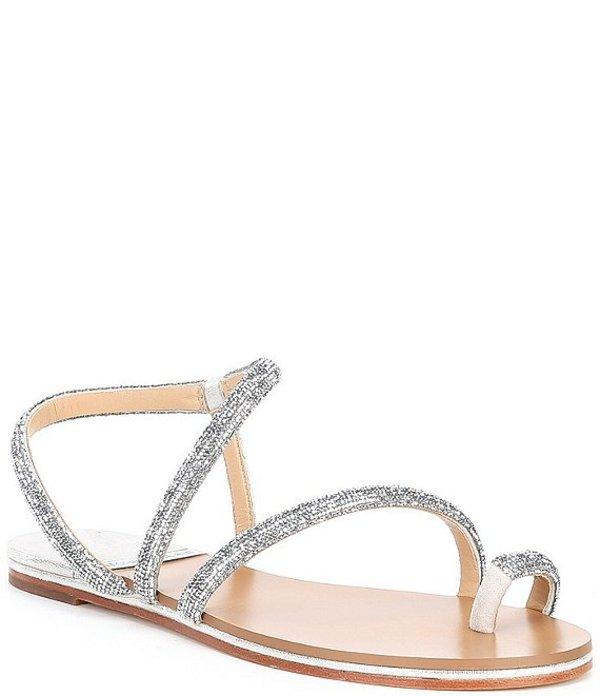 アントニオ メラーニ レディース サンダル シューズ Paulinie Embellished Flat Sandals Chalk