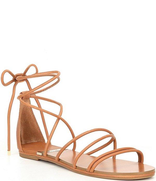 アントニオ メラーニ レディース サンダル シューズ Pindiee Leather Lace Up Flat Sandals Ibiza Nude