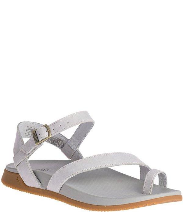 チャコ レディース サンダル シューズ Women's Tulip Toe Loop Leather Sandals Granite