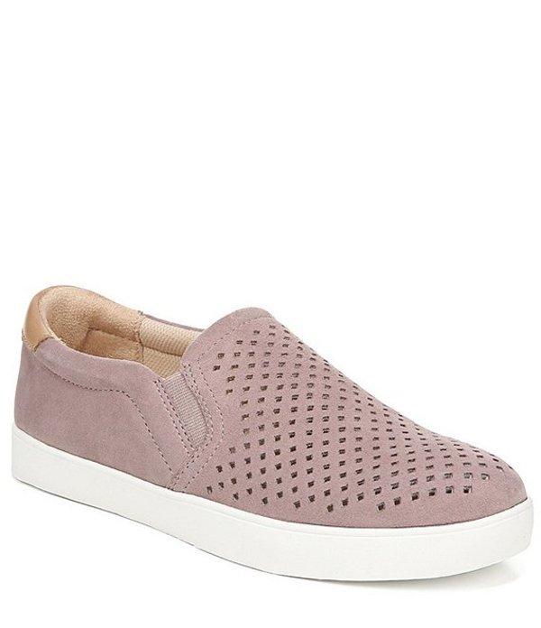 ドクターショール レディース スニーカー シューズ Scout Perforated Suede Slip On Sneakers Hydrangea Pink