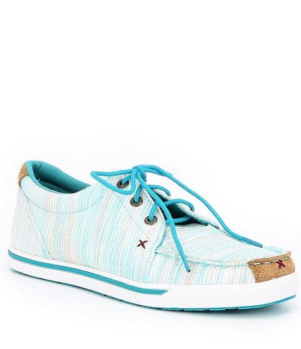 ツイステッドエックス レディース スニーカー シューズ Women's Striped Hooey Loper Sneakers Blue/Multi