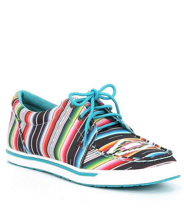ツイステッドエックス レディース スニーカー シューズ Women's Serape Hooey Loper Sneakers Black/Serape