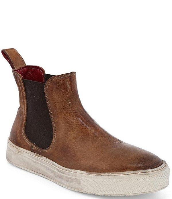 ベッドステュ レディース ブーツ・レインブーツ シューズ Whitney Leather Booties Tan Rustic