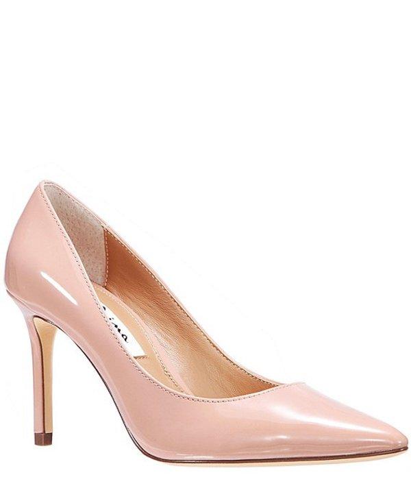 ニナ レディース ヒール シューズ Nina85 Patent Pointed Toe Pumps Rose Nude Patent