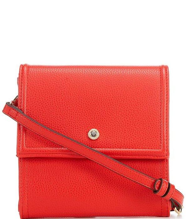 ケイトランドリー レディース ショルダーバッグ バッグ Market Crossbody Bag Red