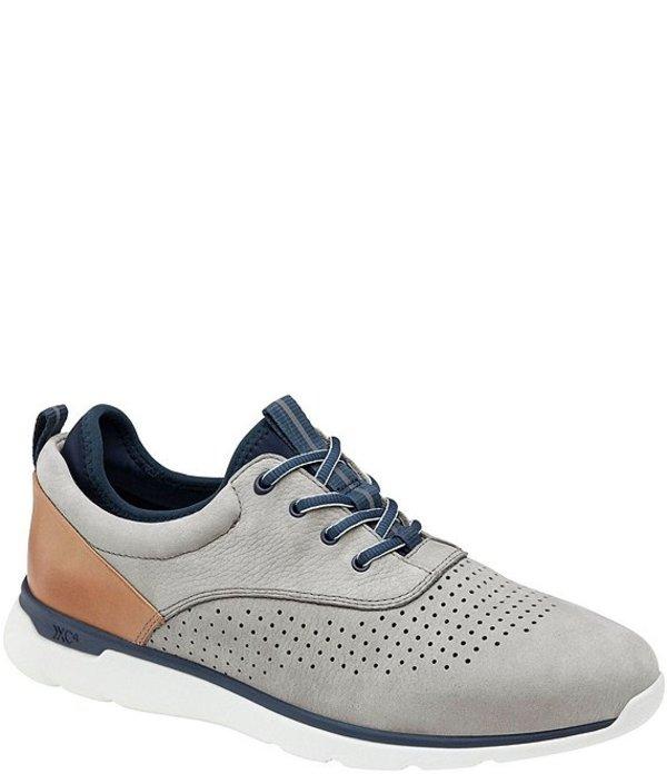 ジョンストンアンドマーフィー メンズ スニーカー シューズ Men's Prentiss Perf XC4 Sneakers Gray