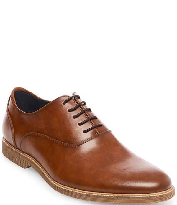 スティーブ マデン メンズ ドレスシューズ シューズ Men's Ollie Leather Oxfords Tan