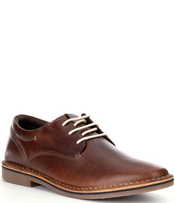 スティーブ マデン メンズ ドレスシューズ シューズ Men's Harpoon Leather Oxfords Wood