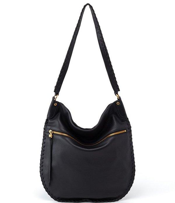 ホボ レディース ショルダーバッグ バッグ Tide Shoulder Bag Black