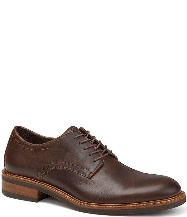 トラスク メンズ ドレスシューズ シューズ Men's Lansing Plain Toe Oxfords Bourbon