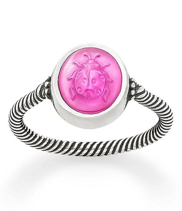ジェームズ エイヴリー レディース カジュアルパンツ ボトムス Sculpted Ladybug Pink Triplet Ring Sterling Pink