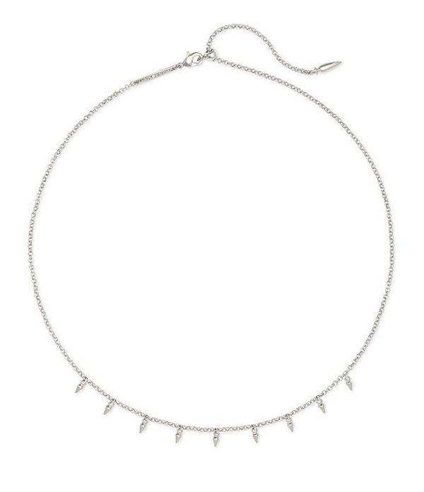 ケンドラスコット レディース ネックレス・チョーカー アクセサリー Addison Choker Necklace Silver