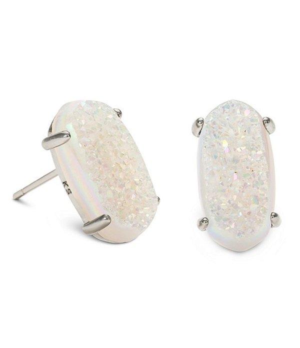 ケンドラスコット レディース ピアス・イヤリング アクセサリー Betty Silver Stud Earrings Iridescent Drusy