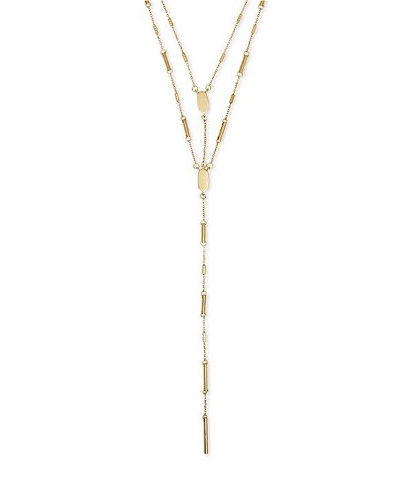 ケンドラスコット レディース ネックレス・チョーカー アクセサリー Adelia Y Necklace 14k Gold Plated