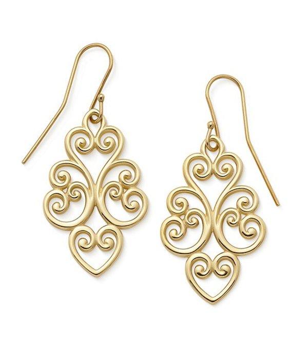 ジェームズ エイヴリー レディース ピアス・イヤリング アクセサリー 14k Gold Jubilant Heart Ear Hooks 14k Gold