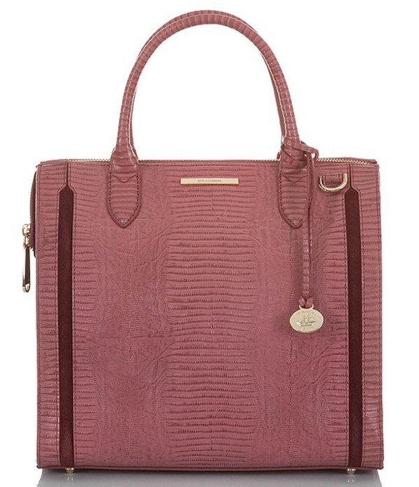 ブランミン レディース ハンドバッグ バッグ Thornfield Collection Caroline Satchel Bag Rose