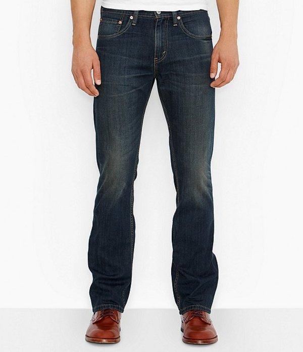 リーバイス メンズ デニムパンツ ボトムス Levi'sR 527 Slim-Fit Bootcut Rigid Jeans Covered Up