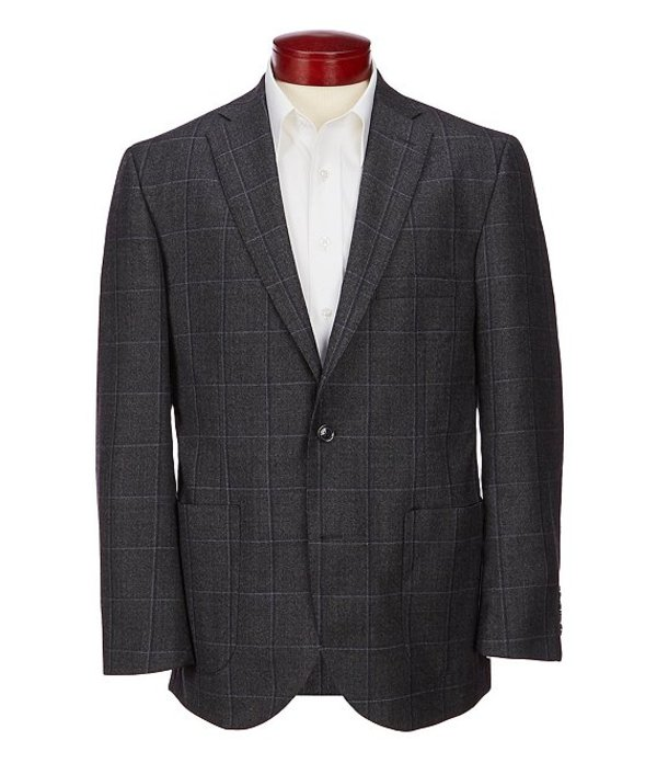 ハート シャフナー マルクス メンズ ジャケット・ブルゾン アウター Patterned Suit Seperates Blazer Grey