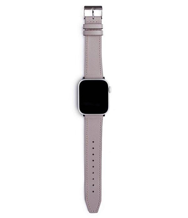 レベッカミンコフ レディース 腕時計 アクセサリー Grey Leather Apple WatchR Strap Grey