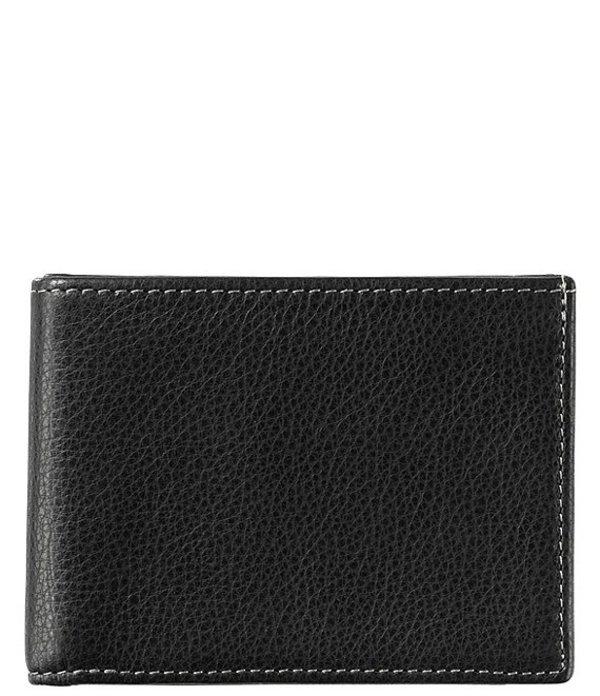 ジョンストンアンドマーフィー メンズ 財布 アクセサリー Men's Slimfold Wallet Black